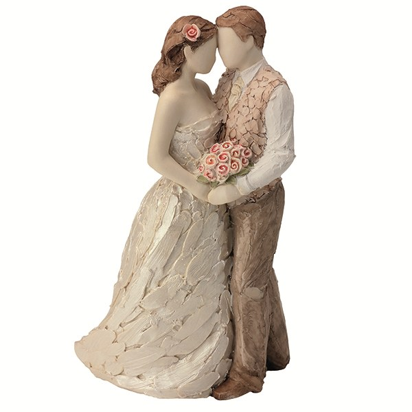 More Than Words Can Say Cake Topper Wedding