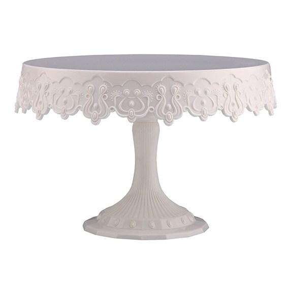 White Pedestal Cake Stand  sc 1 st  Rainbow Sugarcraft & Cake Stands u0026 Separators A huge range of Wedding Cake Stands and ...