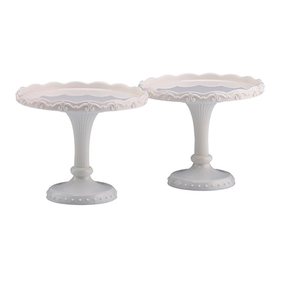 White Cupcake Stands