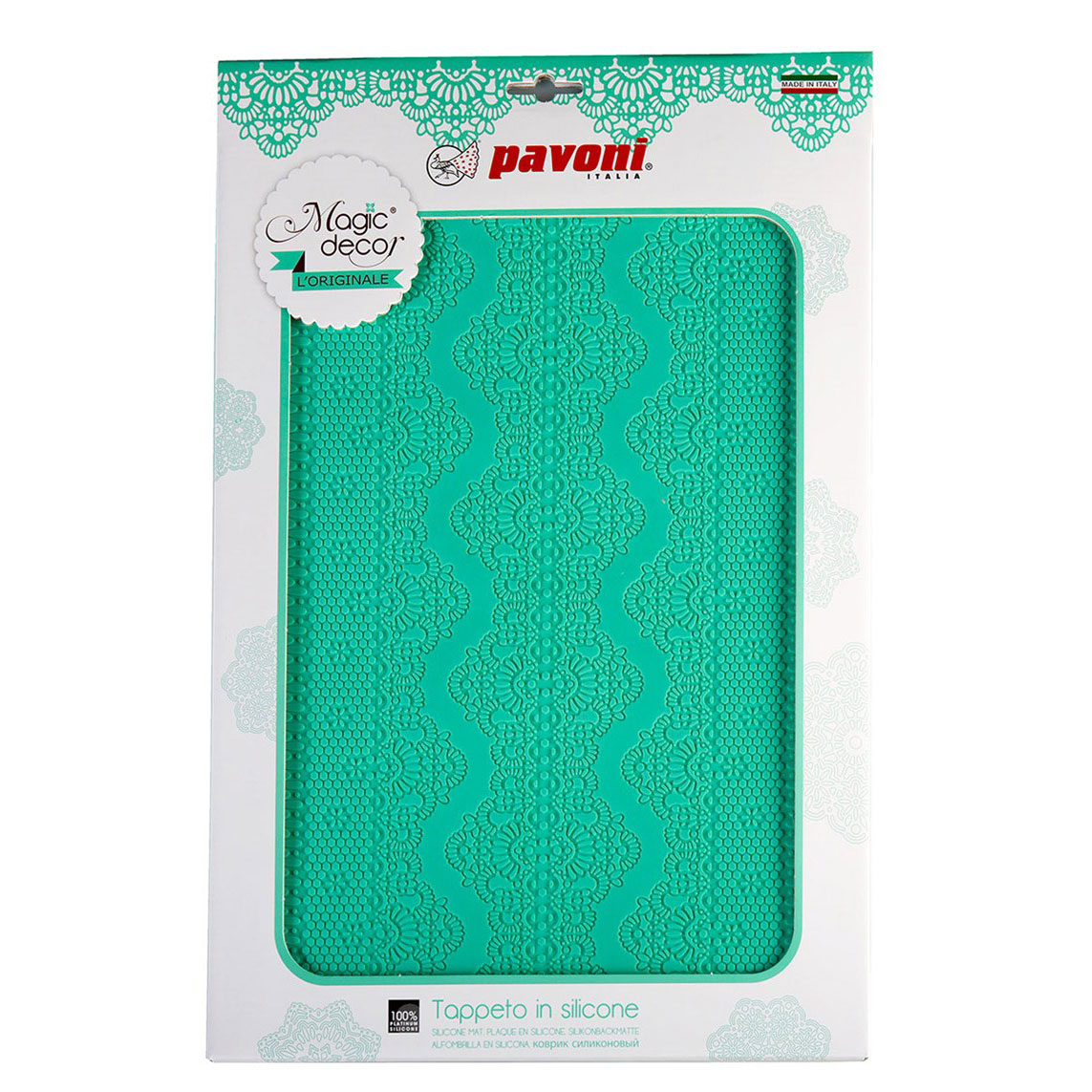 Edible Lace Making Mat 1