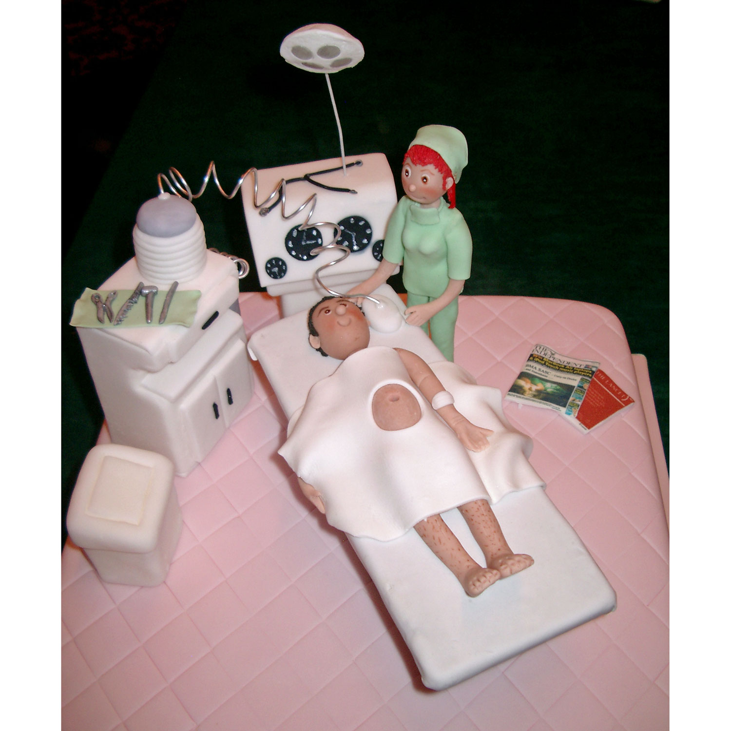 Anaesthetist Birthday Cake