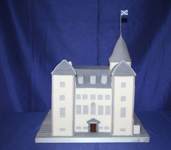 Barony Castle Wedding Cake