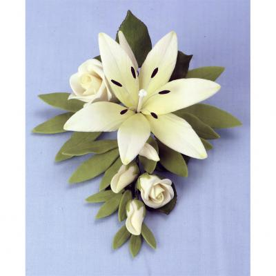 Small Bridal Lily Bouquet