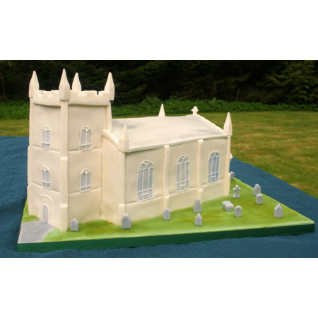Church Wedding Cake