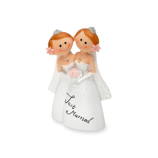 Same Sex Bride Wedding Cake Topper