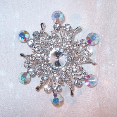 r lg brooch russie spray dia diamond faberge vieille la a floral large flower antique