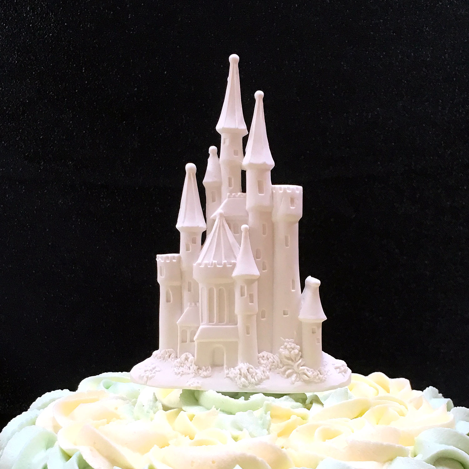 Sugar Fairytale Castle Cake Topper