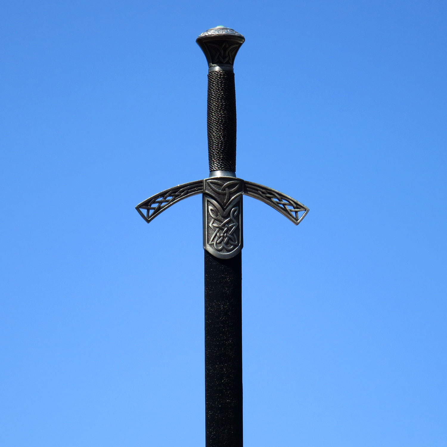 Celtic Knotwork Scottish Sword