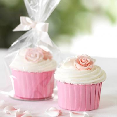 Cupcakes in Clear Gift Bags
