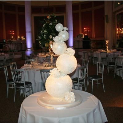 Diamante Wedding Spheres at Gleneagles