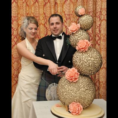 Sphere Cakes are Available in any Colour Theme