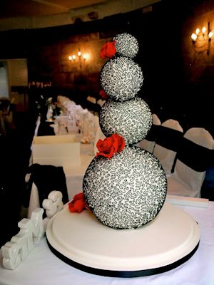 Sphere Wedding Cakes