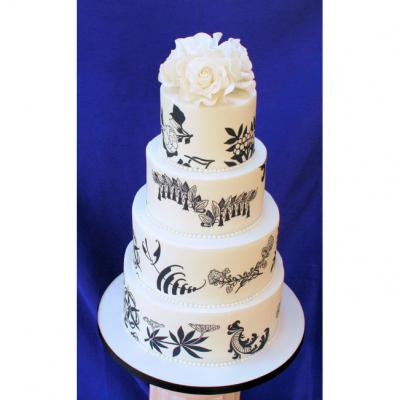 Wedding Cakes with Edible Prints