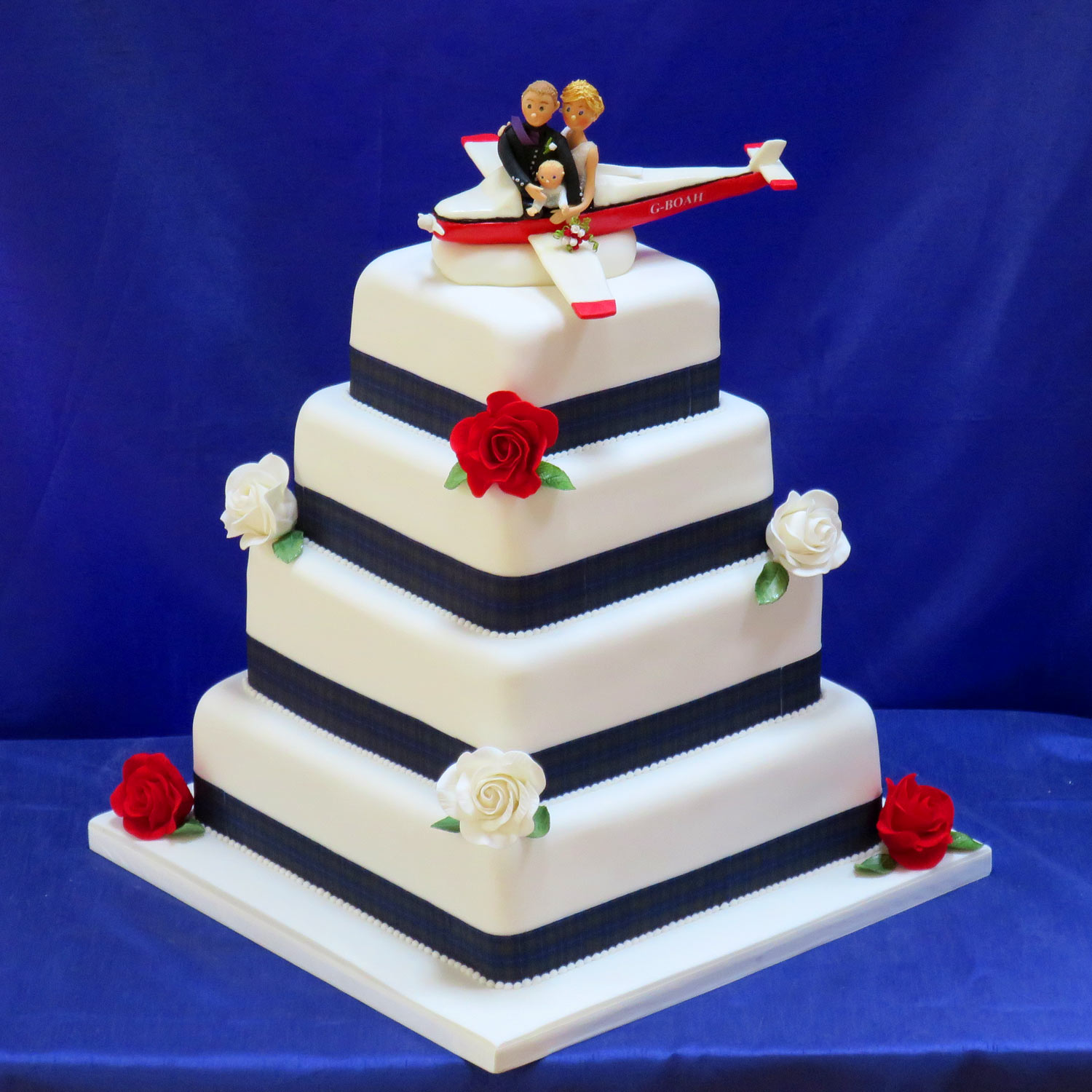 aircraft wedding cake fly me to the moon cessna plane wedding cake 10633