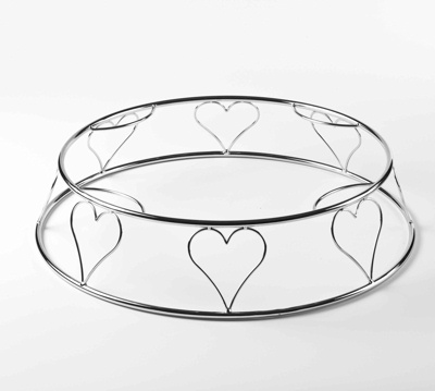 Heart shaped wedding cake stands for sale Wedding photo blog
