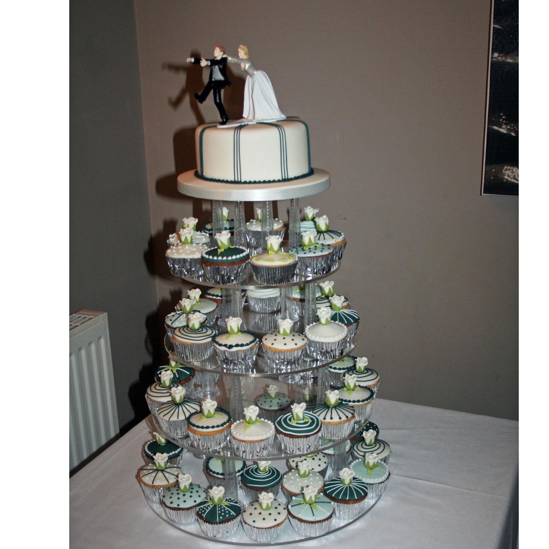 Cupcake Wedding Cakes: Contemporary Wedding Cakes Wedding Cakes Edinburgh, Scotland