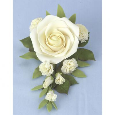 Ivory Bridal Rose Bouquet