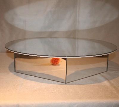 Round Mirror Cake Stand