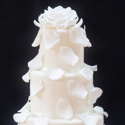 Handcrafted Sugar Rose and Petals
