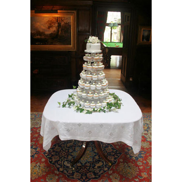 Cupcake Wedding Tower at Dundas Castle