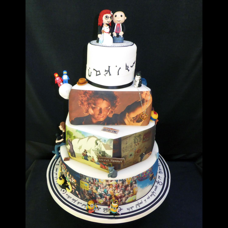 Novelty Wedding Cakes Wedding Cakes Edinburgh Scotland