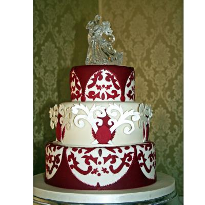 Asian Style Wedding Cake