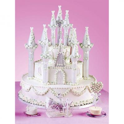 Romantic Castle Cake