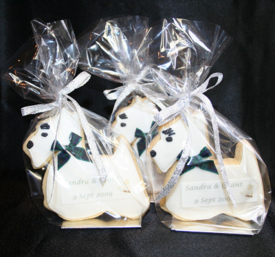 Scottie Dog Cookies