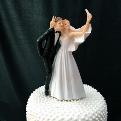 Cake Toppers Contemporary Wedding Cake Toppers Bride And