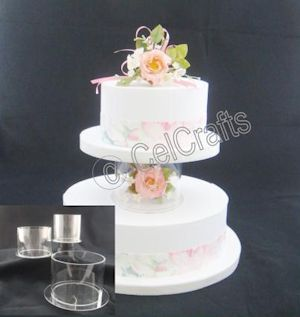 Wedding Cake Separator & Wedding Cake Separator Plates And Pillars Uk - 5000+ Simple Wedding ...