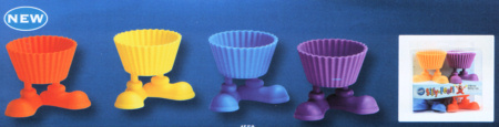 Silly Feet Silicone Cup Cake Cases