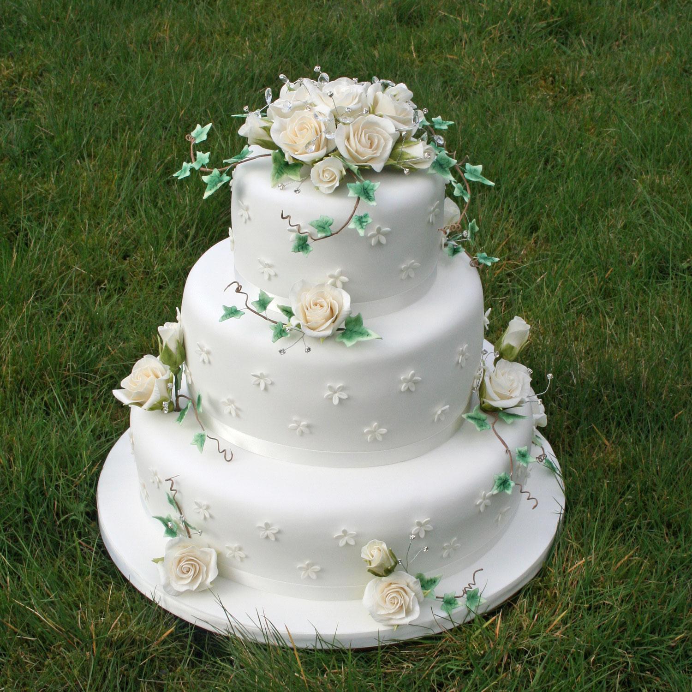 Wedding Cake Sugar Flowers: Floral Wedding Cakes Floral Wedding Cakes And Cakes With