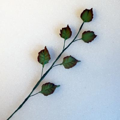 Medium Trailing Rose Leaves