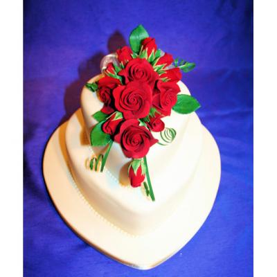 True Love Wedding Cake