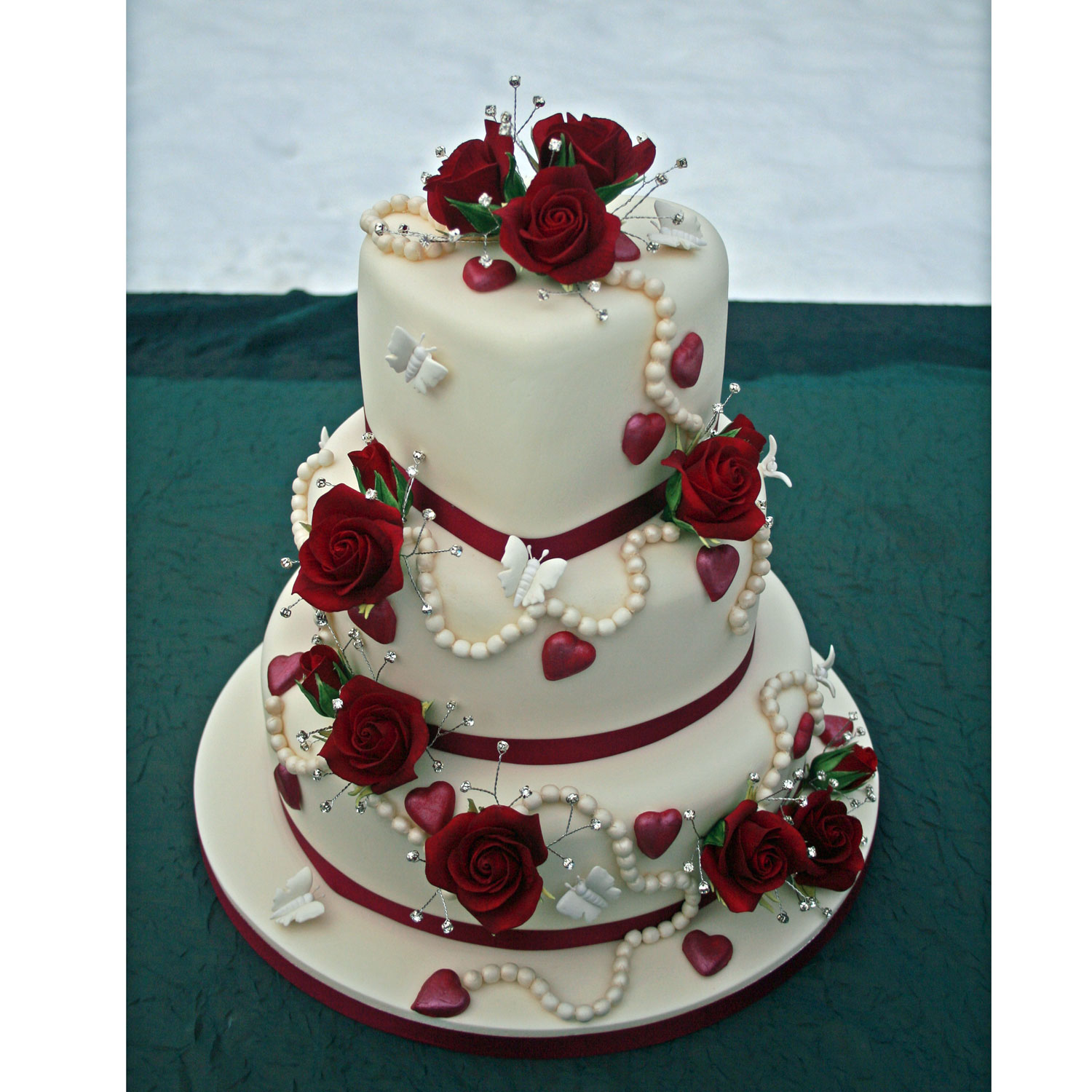 Valentine Wedding Cake Valentine Heart Shaped Wedding Cake