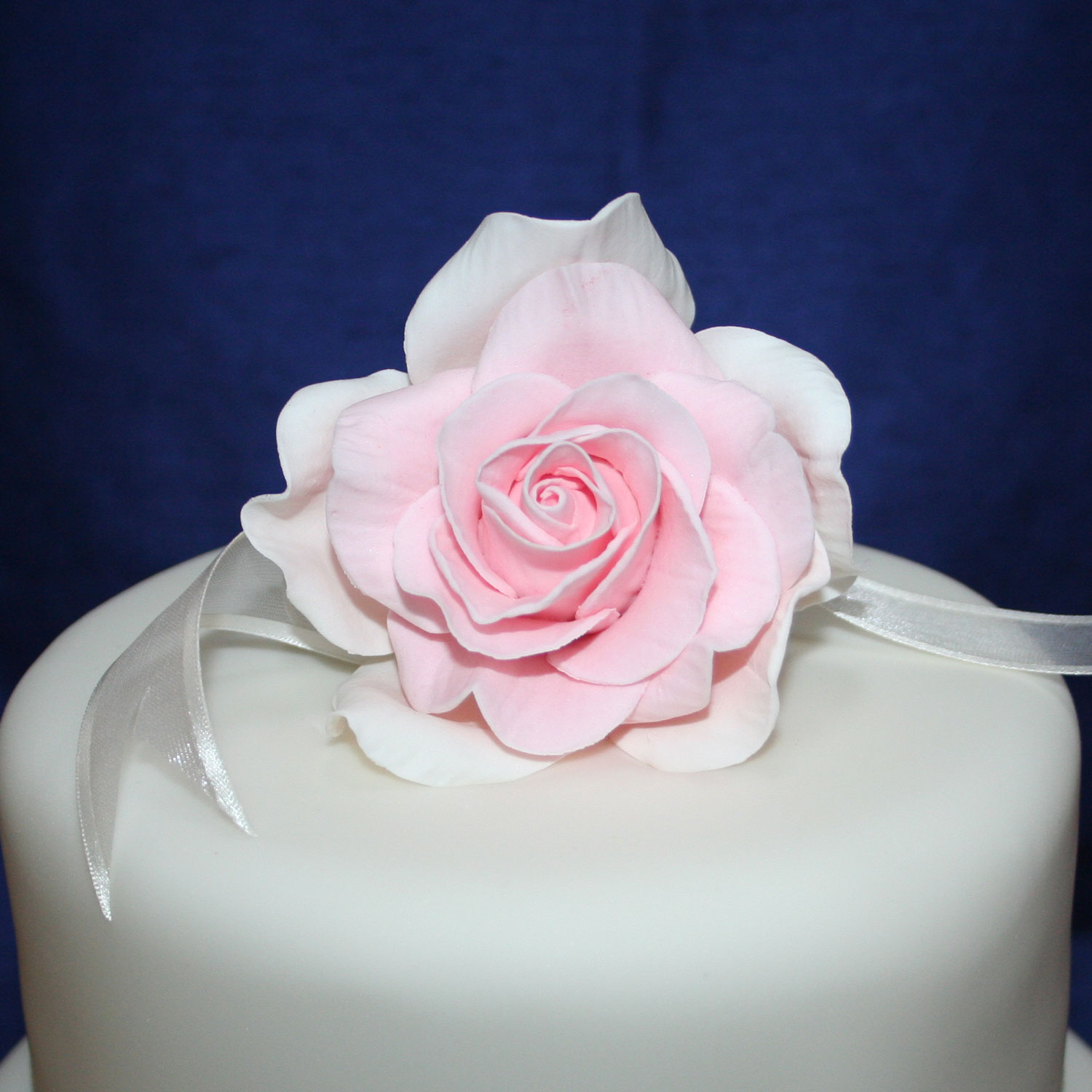 Handcrafted Vintage Pink Sugar Rose