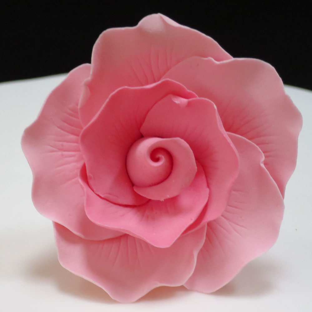 Pink Sugar Rose Head