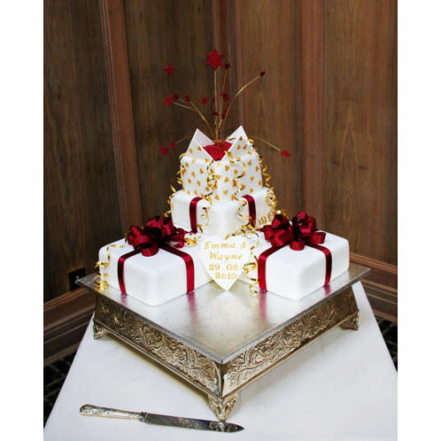 Wedding Parcels Cake