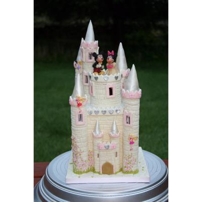 Castle Wedding Cake Topper