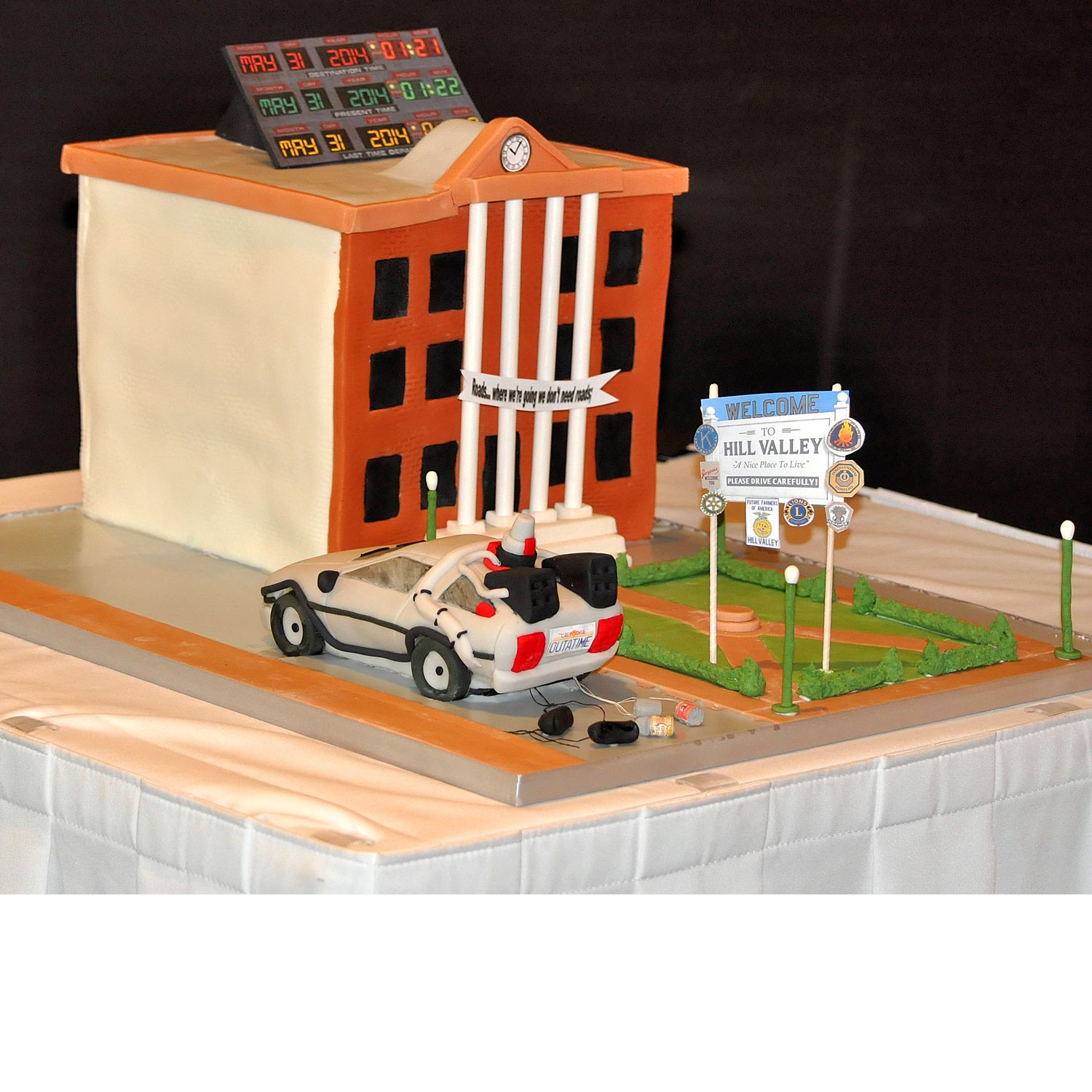 Back To The Future Wedding Cake.