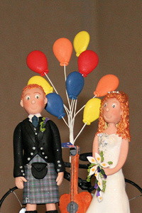 Wired Sugar Balloon Cake Topper