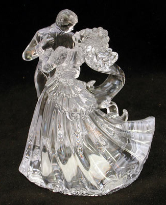 Bianca Clear Cake Topper