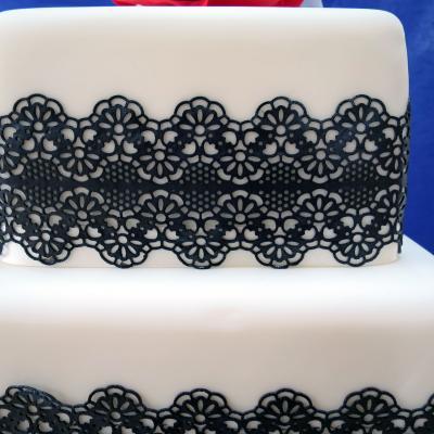 Magic Decor Cake Lace Mat 1