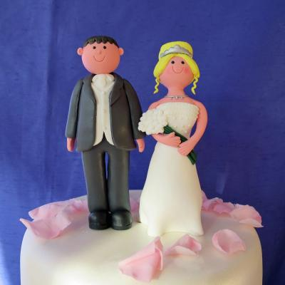 Contemporary Claydough Bride and Groom