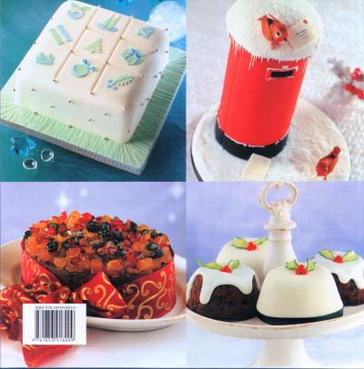 Xmas Cake Decorating Books : Making Beautiful Christmas Cakes Making Beautiful ...