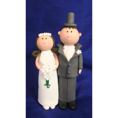 Claydough Bride and Groom