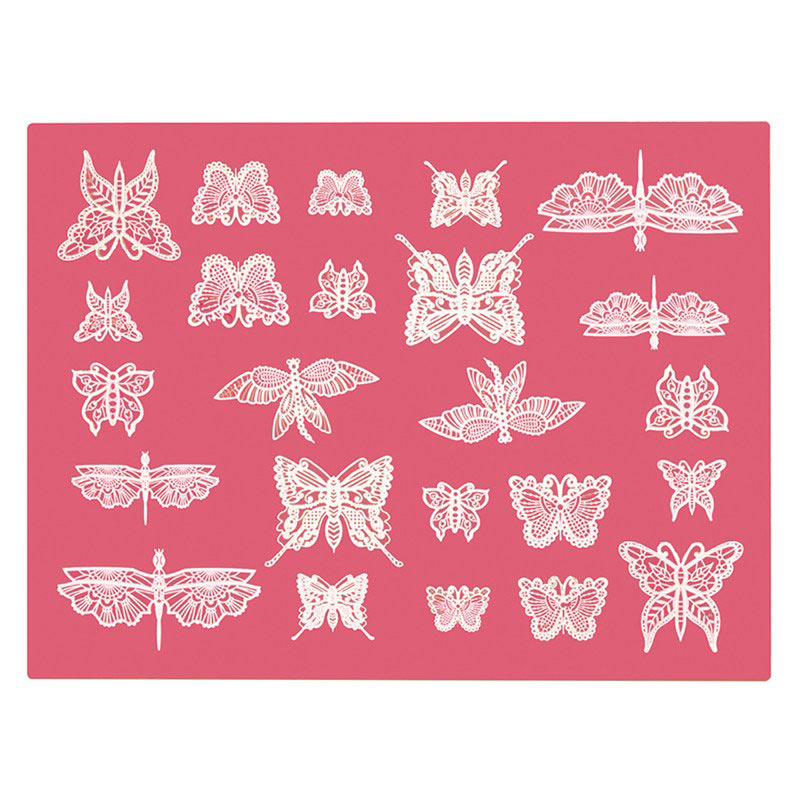 Butterfly Edible Cake Lace Mat