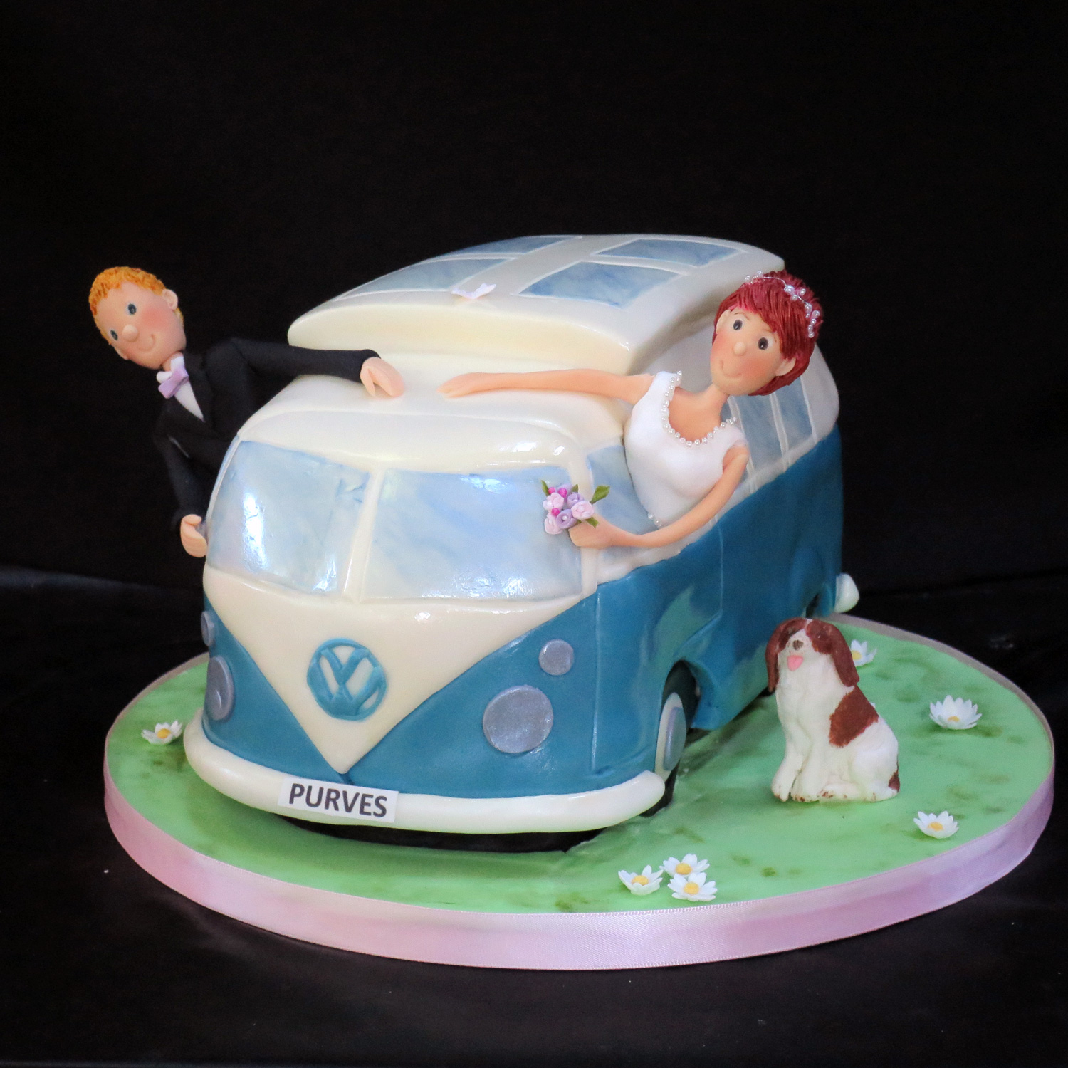 Kombi Wedding Cake Vw Kombi Camper Van Wedding Cakes
