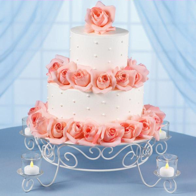 Candelight Cake Stand