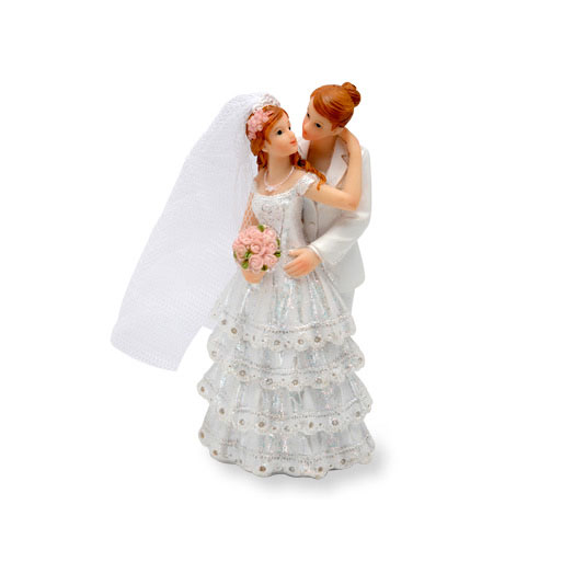 Two Brides Cake Topper